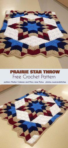 37 New Ideas For Crochet Patrones Ganchillo Mantas Crochet Pillow Patterns Free, Crochet Stitches For Blankets, Baby Knitting Patterns, Free Crochet, Irish Crochet, Free Pattern, Afghan Patterns, Free Knitting, Crochet Baby