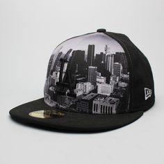 Boné New Era 59FIFTY Los Angeles Black CIty