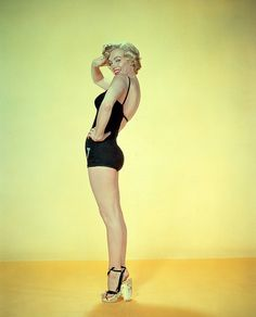 Marilyn Monroe - c.1953(IV) by thetag1, via Flickr I've always loved the heels she has on here.