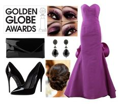 """purple"" by adelinaaaa ❤ liked on Polyvore featuring Oscar de la Renta, Dolce&Gabbana, L.K.Bennett and Givenchy"