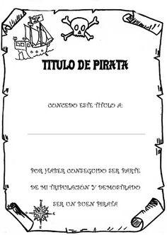 Proyecto PIRATAS - Ana Alvarez Fontenla - Álbumes web de Picasa Pirate Birthday, Pirate Theme, Just Love Me, Love My Job, Pirate Wreath, Games For Kids, Activities For Kids, Pirate Invitations, Pirate Halloween