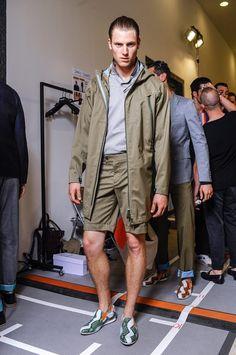 NO! Wear socks. Men's Fashion Trends Spring-Summer 2013 Urban Safari ~ Olive Green Colors ~ Men Chic- Men's Fashion and Lifestyle Online Magazine