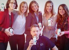 DO! l'agence team with Spiralps Drink! www.spiralps.ch - Fresh Spirulina!!! Drink made in Switzerland