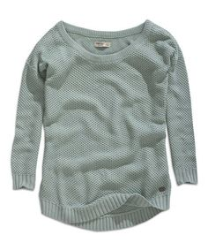 Another great find on #zulily! Light Aloe Sweater #zulilyfinds
