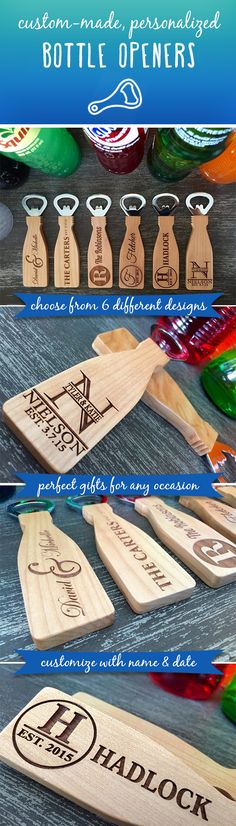 For a limited time, get 46% off these awesome bottle openers! If you are looking for a beautiful, simple, personalized, thoughtful gift idea look no further! Choose from 6 classic designs and customize with names and dates. These incredible, personalized bottle openers make the perfect gift for any occasion. Made from 100 percent maple, they are highly durable and will look fantastic displayed on any magnetized surface!