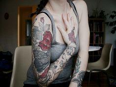 100 Best Arm Tattoo Designs for Ladies - Tattoo Fonts