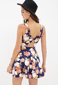 Floral A-Line Dress | FOREVER 21 - 2000137447