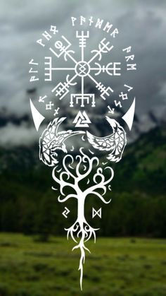 Symbols in Pagan Spirituality # Symbols … – Norse Mythology-Vikings-Tattoo Viking Tattoo Sleeve, Viking Tattoo Symbol, Norse Tattoo, Viking Tattoo Design, Celtic Tattoos, Viking Tattoos, Sleeve Tattoos, Arte Viking, Viking Art