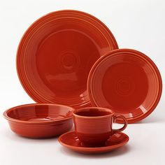 Fiesta Paprika Collection for the Fall Would look perfect at our fall gathering.