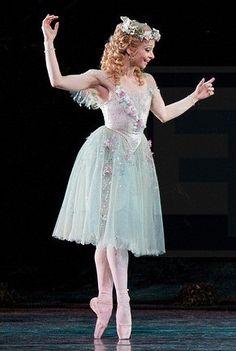 "Roberta Marquez as Titania in ""Midsummer Night's Dream"" (Royal Ballet)"