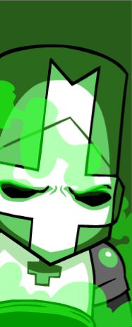 castle crashers green knight starting screen - Google Search