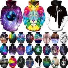 Unisex Galaxy Animal Graphic 3D Print Hoodies Long Sleeve Pocket Sweatshirt Tops For Kid 2-7T Do you like it, need to buy in large quantities,Please PM me.E-mail:speedgrowth@yahoo.com