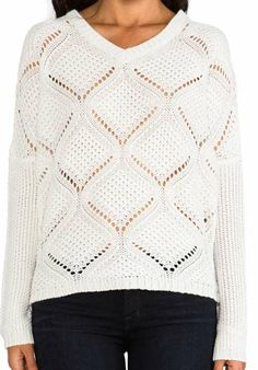 BB Dakota Cody Over Sized Cable Knit Pullover for $61 / Wantering  .... Inspiration