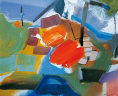 Red CentreBy Ivon Hitchens  Pallant House Gallery