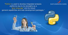 An e-learning Platform To Python Programming Register For Free Live Demo - http://goo.gl/zOThg1