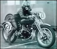 Classy women ride motorcycles. :-)