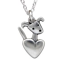 Sterling Puppy Charm <3