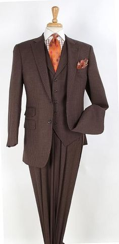 7c2373eb2 Apollo King Men's 3 piece 100% wool outlet suit comes with 30