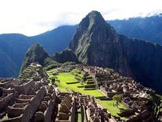 The perfect destination for adventurous newly weds ... Macchu Picchu, Peru