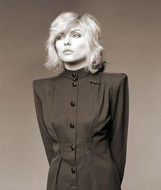 Brian Aris: Debbie Harry, New York Studio, 1980.