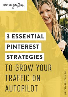 Grow your blog traffic with these easy pinterest marketing strategies. They are perfect for creative bloggers! #MelyssaGriffin #pinterestmarketing #socialmediatips Social Media Marketing Business, Social Media Tips, Pinterest For Business, Pinterest Marketing, A Team, Making Ideas, Marketing Strategies, Melyssa Griffin, Business Tips