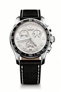 Unisex Hodinky Chrono Classic 241496 Swiss-made quartzový strojček ETA G10.211, Presnosť merania chronografu až 1/10 sekundy, tachymeter, priemer: ø 41 mm