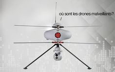 France's anti-drone drone can spot malicious pilots in under a minute | Paris has been hit with a spate of anonymously-piloted drones flying over key landmarks, government buildings and even a nuclear power station. Thankfully, French firm ECA has been quick to respond to the potential threat, building an anti-drone drone that can hunt down drones and identify their pilots.