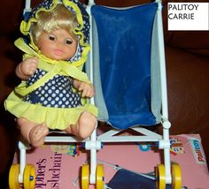 CARRIE IN HER PUSHCHAIR, PALITOY