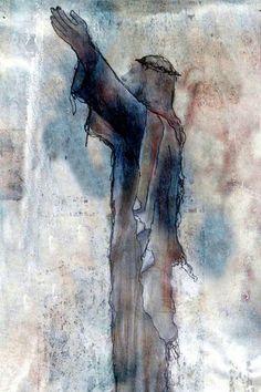 'Resurection' von Marie Luise Strohmenger bei artflakes.com als Poster oder Kunstdruck $19.41