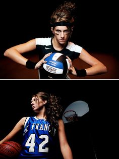 senior pictures@Lisa Williams love these - have such an olympic feel - so much better than just a ball on the knee.