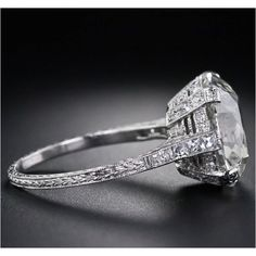 vintage engagement ring! yes please!!