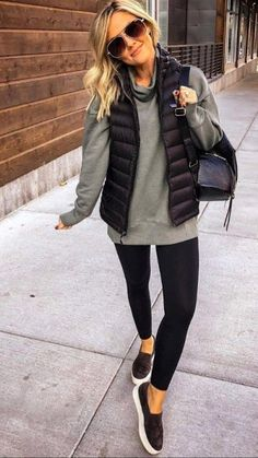 casual outfits for winter comfy \ casual outfits . casual outfits for winter . casual outfits for work . casual outfits for women . casual outfits for school . casual outfits for winter comfy Casual Winter Outfits, Casual Fall Outfits, Winter Fashion Outfits, Look Fashion, Autumn Winter Fashion, Outfits With Vests, Winter Outfits Women, Winter Fashion Women, Women's Fall Fashion