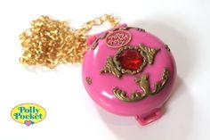 Kitsch Polly Pocket Jeweled Palace 1992 Vintage by CharmsByIzzy, £10.00