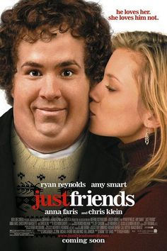 Just Friends ~ Ryan Reynolds, Amy Smart, Anna Faris Amy Smart, Anna Faris, Funny Movies, Good Movies, Funniest Movies, 2016 Movies, Greatest Movies, Love Movie, Movie Tv