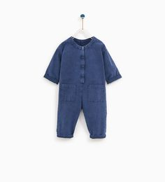 Image 1 of WORKER JUMPSUIT from Zara