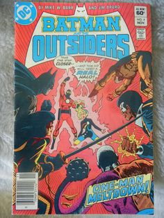 DC Comic Batman and the Outsiders Vol.1 No.4 Nov 1983 by AlienDragon on Etsy