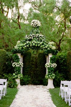 ♥ Wedding Decorations ~  Ceremony Arch