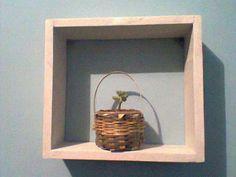 Saudações pessoal!   O trabalho de hoje é com madeira! Fui incumbido de fazer um nicho de madeira como o da foto:  Mas eu não gosto muito de...