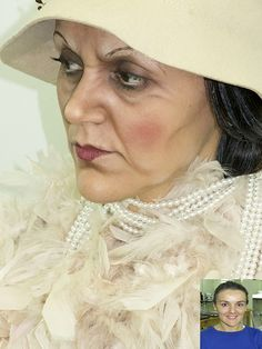 Sfx Makeup, Costume Makeup, Makeup Art, Makeup Tips, Special Makeup, Special Effects Makeup, Maquillaje Halloween, Halloween Makeup, Old Age Makeup