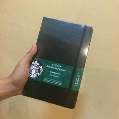 Moleskine Starbucks Planner from SG!