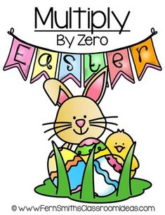 FREE Quick and Easy to Make Multiplication Center Game Multiply By Zero Concept for EasterThis math resource includes:Four center game pages in color.MATH CENTER sign.Teacher Directions and Common Core sheets.Click here to download all THIRTEEN Easter Multiplication Center Games!