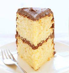 Perfect Yellow Cake Recipe @iambaker