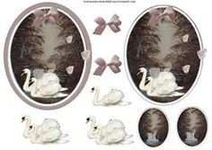 These designs known as step by step or decoupage help bring a image to our feathered friends by using . 3d Sheets, Step Cards, Decoupage, Waterfall, Decorative Plates, Card Making, Paper Crafts, Birds, Tableware