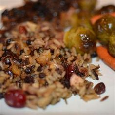 Rice Stuffing with Apples, Herbs, and Bacon - Allrecipes.com