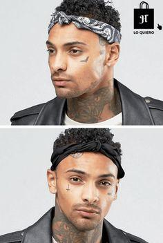 tendencias para hombre pañuelo cabeza - #blog #blogger #moda #modahombre