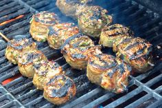 Herb and Garlic Grilled Steak Medallions