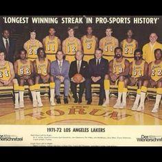 1972 Los Angeles Lakers - NBA Champions