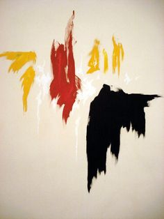 My favorite of Clyfford Still's work currently on display at New York's Metropolitan Museum of Art.