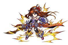Voltage Cutlass Diana Brave Frontier, Character Ideas, Gundam, Amazing Art, Chibi, Diana, Battle, Video Games, The Unit