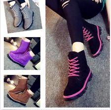 Women Winter Warm Ankle Snow Boots ...